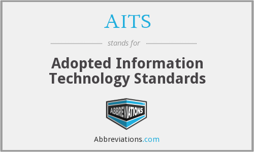 AITS - Adopted Information Technology Standards