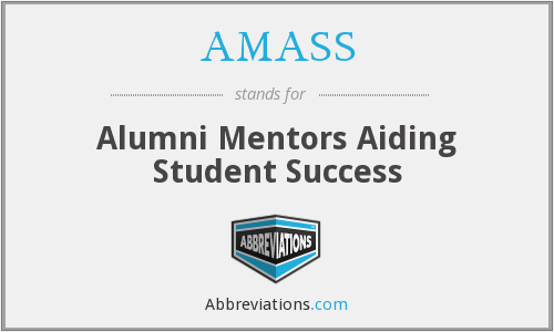 AMASS - Alumni Mentors Aiding Student Success