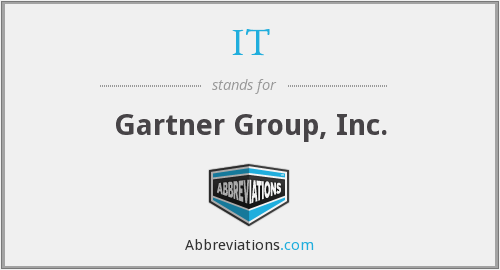 IT - Gartner Group, Inc.
