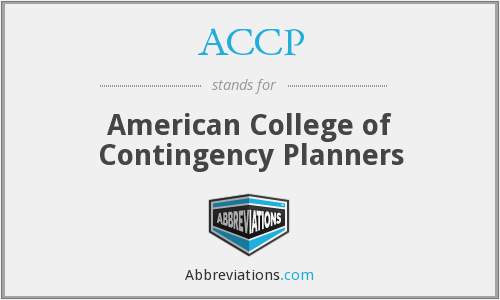 ACCP - American College of Contingency Planners