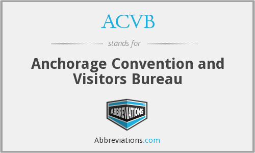 ACVB - Anchorage Convention and Visitors Bureau