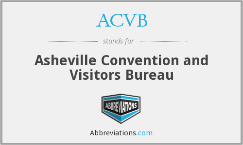ACVB - Asheville Convention and Visitors Bureau