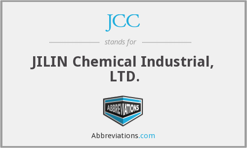 JCC - JILIN Chemical Industrial, LTD.