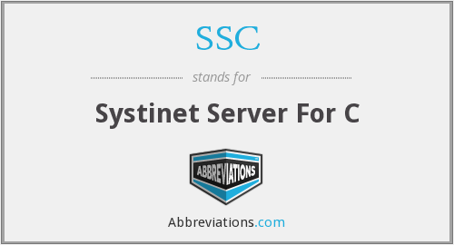 SSC - Systinet Server For C
