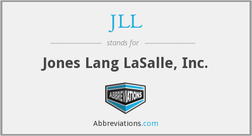 JLL - Jones Lang LaSalle, Inc.