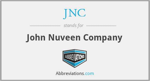 JNC - John Nuveen Company