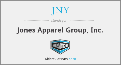 JNY - Jones Apparel Group, Inc.