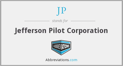JP - Jefferson Pilot Corporation