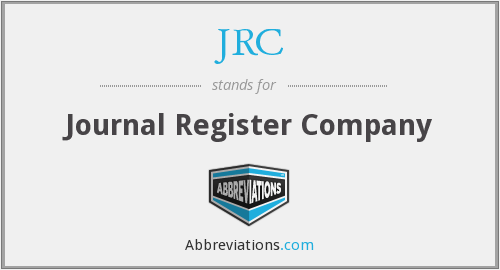 JRC - Journal Register Company