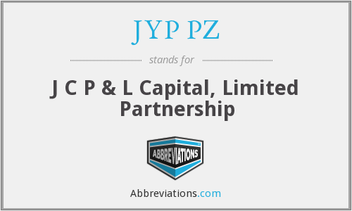 What does JYP PZ stand for?