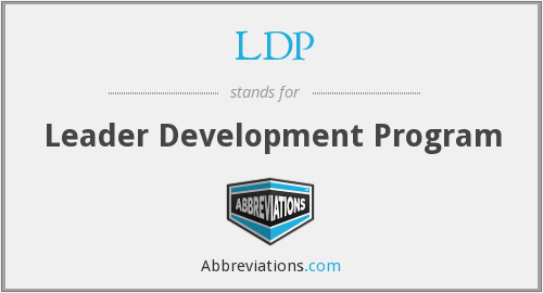 LDP - Leader Development Program