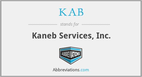 KAB - Kaneb Services, Inc.