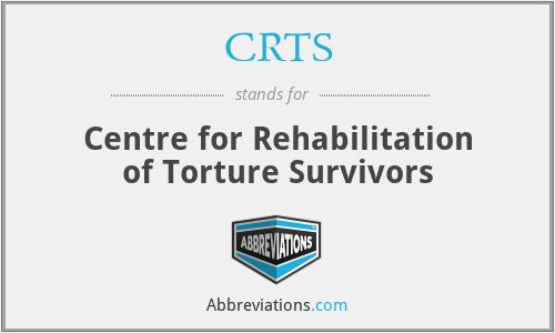 CRTS - Centre for Rehabilitation of Torture Survivors