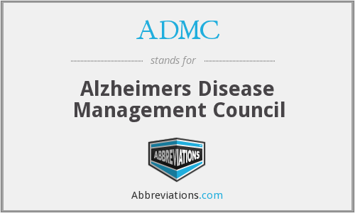 ADMC - Alzheimers Disease Management Council