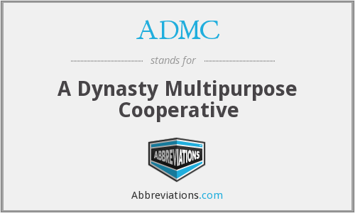 ADMC - A Dynasty Multipurpose Cooperative