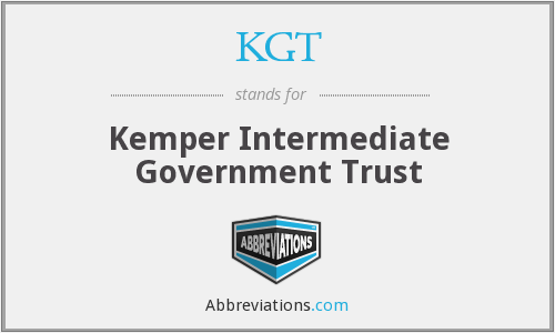 What does KGT stand for?