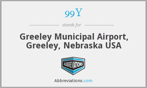 99Y - Greeley Municipal Airport, Greeley, Nebraska USA