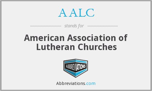 AALC - American Association of Lutheran Churches