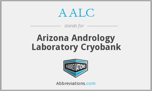 AALC - Arizona Andrology Laboratory Cryobank