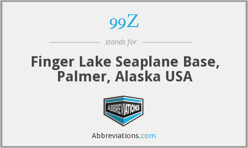 99Z - Finger Lake Seaplane Base, Palmer, Alaska USA