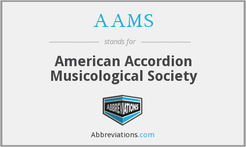 AAMS - American Accordion Musicological Society