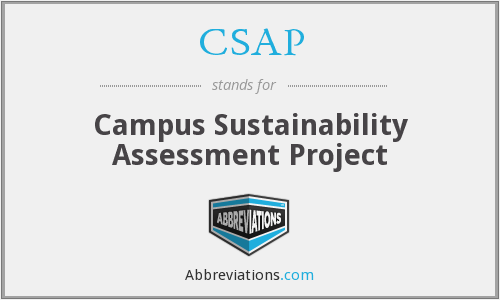 CSAP - Campus Sustainability Assessment Project