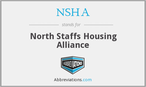 NSHA - North Staffs Housing Alliance