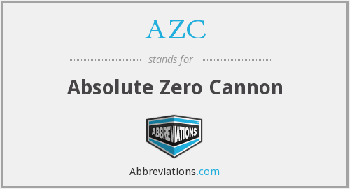 AZC - Absolute Zero Cannon