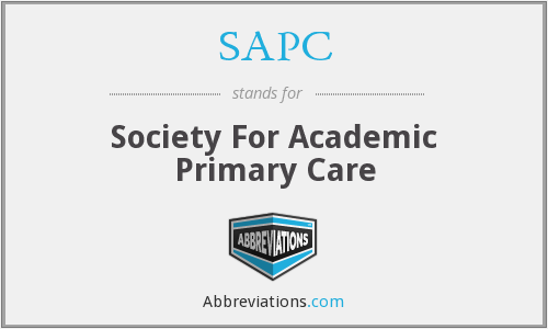 What does SAPC stand for?