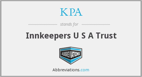 What does KPA stand for?