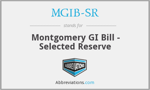 What does MGIB-SR stand for?