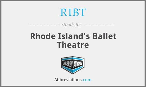 RIBT - Rhode Island's Ballet Theatre