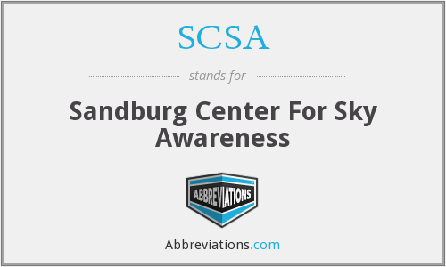 SCSA - Sandburg Center For Sky Awareness