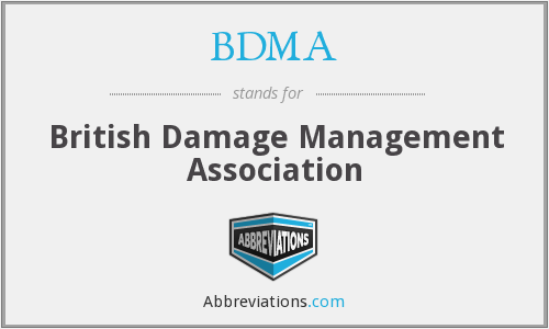 BDMA - British Damage Management Association