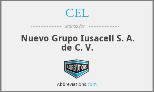CEL - Nuevo Grupo Iusacell S. A. de C. V.