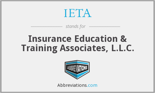 IETA - Insurance Education & Training Associates, L.L.C.
