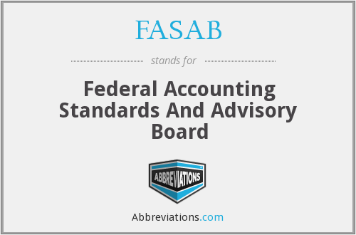 FASAB - Federal Accounting Standards And Advisory Board