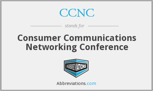 CCNC - Consumer Communications Networking Conference