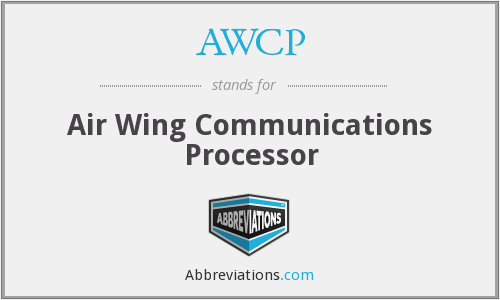 AWCP - Air Wing Communications Processor