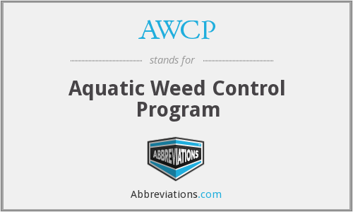 AWCP - Aquatic Weed Control Program