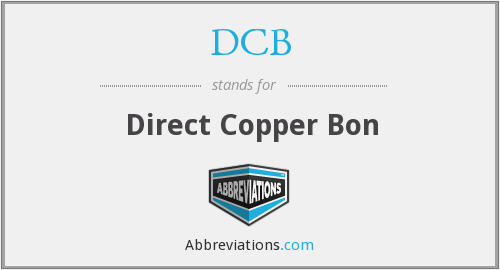 DCB - Direct Copper Bon