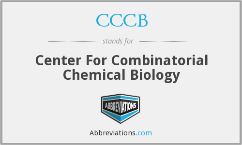 CCCB - Center For Combinatorial Chemical Biology