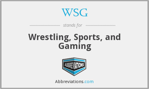 WSG - Wrestling, Sports, and Gaming