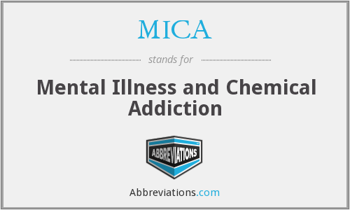 MICA - Mental Illness and Chemical Addiction