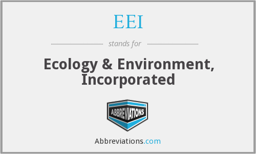 EEI - Ecology & Environment, Incorporated