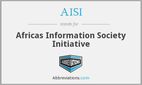 AISI - Africas Information Society Initiative