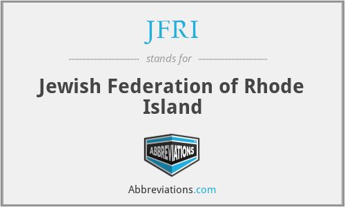 JFRI - Jewish Federation of Rhode Island