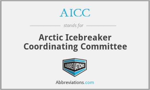 AICC - Arctic Icebreaker Coordinating Committee