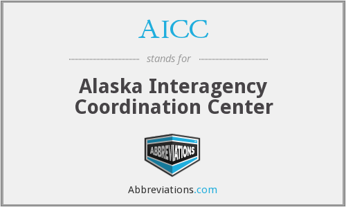 AICC - Alaska Interagency Coordination Center