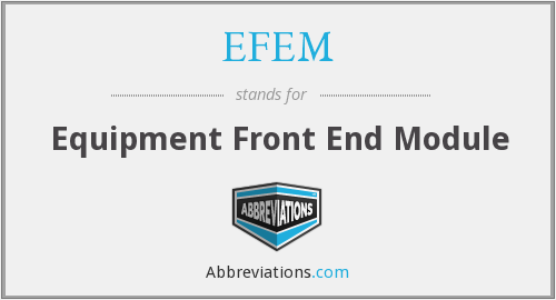 What does EFEM stand for?